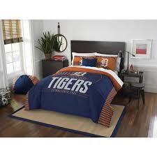 mlb detroit tigers grand slam bedding comforter set bedrooom soft