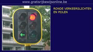 Verkeerslichten En Lichten Voor Een Tram Rijbewijs B Gratis