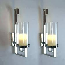 wall sconce candle holder candles decor lovely latest silver black tealight holders art