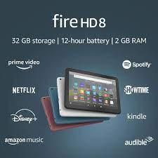 Mã 159ELSALE hoàn 7% đơn 300K] Máy tính bảng Amazon Fire8 tablet HD8