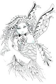 fairy color pages coloring fairies drfaull com