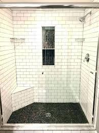 tile shower pan kit tile shower base kit tile floor shower cozy bathroom with subway tile tile shower pan kit