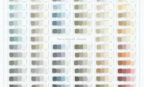Annie Sloan Chalk Paint Mixing Chart Annie Sloan Colour Chart Chalk Paint Colors Swatches Of