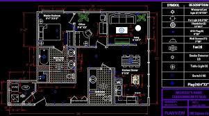 draw your floor plan in autocad elegant floor plan cad