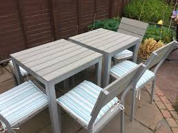 ikea falster garden table chairs bench and parasol set