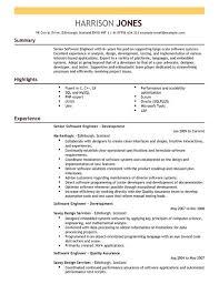 Software Engineer Resume Full Template All Best Cv Resume Ideas