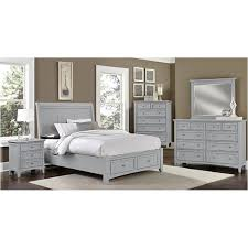 bb26 663 st vaughan bassett furniture bonanza grey bedroom bed