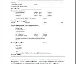 Simple Wedding Photography Contract Template Cancellation – Goneatenergy