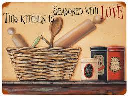 """<b>Табличка</b> декоративная """"The <b>kitchen is</b> seasoned"""", Декоративная ..."""