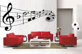 newclew music musical notes large removable vinyl wall quote decal home d cor large wall decor stickers amazon  on large vinyl wall decal quotes with newclew music musical notes large removable vinyl wall quote decal
