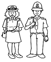 Police Coloring Pages Police Women And Policeman Coloring Pages Kids
