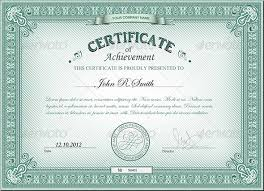 Certificate Template Photoshop Certificate Photoshop Template Detailed By Ryabinina Graphicriver P