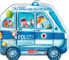 Mein Kleiner Fahrzeugspaß Tatüüü Das Polizeiauto Ab 18 Monaten Sandra Grimm Pappenbuch Carlsen Verlag