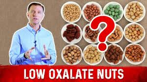 What Nuts Have The Lowes The Lowest Amounts Of Oxalates To