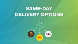 Dhl Ups And Fedex Same Day Delivery Options Shippo