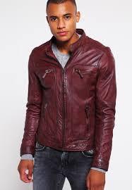 oakwood casey leather jacket bordeaux men clothing jackets oakwood aloe vera coat conditioner best loved