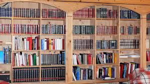 book shelves book wall bookcase books library room wallpaper and background