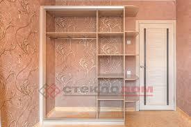 Шкаф-купе - <b>зеркало с</b> рисунком и <b>боковая</b> полка, фото   Шкафы ...