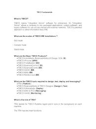 Tibco Fundamentals Soap Xml
