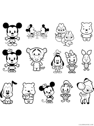 We've collected over 200 free printable disney coloring pages for the little ones to color all day long. Baby Disney Coloring Pages Cartoons Baby Disney 24 Printable 2020 0900 Coloring4free Coloring4free Com