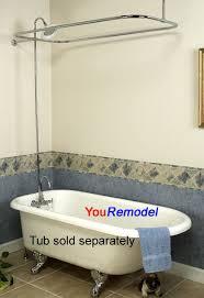 clawfoot tub shower fixtures. clawfoot tub shower fixtures