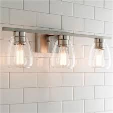 contemporary bathroom lighting fixtures. $120 Sleek Contemporary Bath Light - 3 Light; Can Be Mounted Up Or Down Bathroom Lighting Fixtures