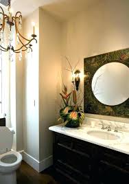 chandeliers powder room chandelier lighting ideas awesome decorative led panel tropical with wall sconce guest