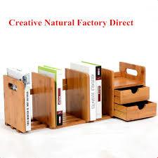office bookshelf. Scalable Bamboo Desktop Bookshelf Bookcase Storage Holder Home Office Book Shelf Accessory For Students D