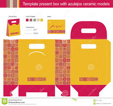 template present box stock photography image 31713722 template present box