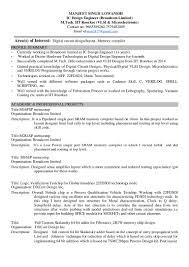 Ic Design Engineer Resume Resume Manjeet Ic Design Engineer Broadcom Iit Roorkee