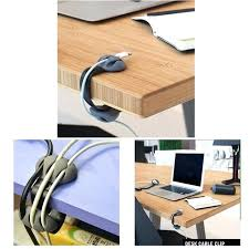 desk with cable management desk cable clips organizer management multipurpose wire holder chargers storage holders racks desk with cable management