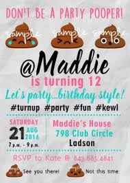 20 Best Tweens Teenage Girl Birthday Party Invitations Images