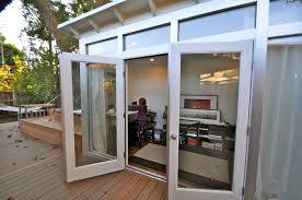 home office pod. Bathroom:Tiny Prefab Sleeping Pod Doubles As Guesthouse And Office Utah Magnificent Guest House San Home