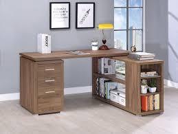 L shape office table Luxurious Office Finally Home Furnishings Shape Office Desk