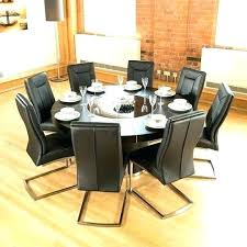 lazy susan dining table lazy dinner table dining table with lazy large round black oak dining