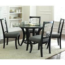round dining table set. Black Dining Set Silver Company 5 Piece Round Table In Tables .