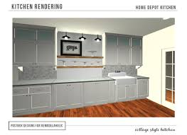 Remodelaholic Cottage Style KitchenEntirely From Home Depot - Home depot design kitchen