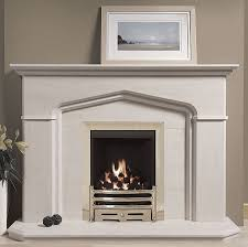 windsor portuguese limestone fireplace features impressive angled corners with bullnose profile a fireplace which would compliment