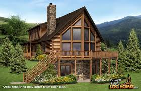 golden eagle log and timber homes floor plan details montana 2 log cabin house plans with basement