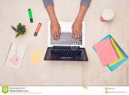 student desk top view. Delighful Desk Download Male Student Working With Laptop On Desk Top View Stock Photo   Image Of Throughout Desk E