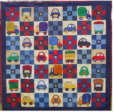 Quilt Patterns For Boys Delectable Patchwork Quilt Kits