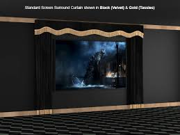 soundright surround curtains soundright home theater curtains home theater decor
