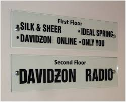 standoff directional signs standoff directional signs