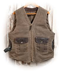 concealed carry waxed canvas vest
