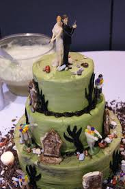 39 best doomsday cakes images on pinterest zombie wedding cakes Zombie Wedding Decorations zombie apocalypse cake zombie wedding supplies