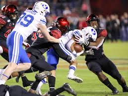 The Daily Aztec San Diego State Shuts Down Byu 13 3 In