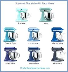 ice blue kitchenaid mixer. Kitchenaid Mixer Blue 8 Shades Of Mixers Compared Side By Ice