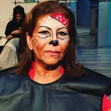 pirate makeup for old women