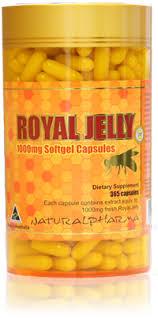 royal jelly softgel capsules