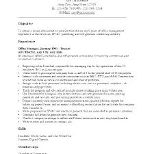 Samples Of Career Objectives For Resumes Career Change Resume Examples